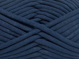 Fiber Content 60% Polyamide, 40% Cotton, Navy, Brand Ice Yarns, Yarn Thickness 6 SuperBulky  Bulky, Roving, fnt2-63427