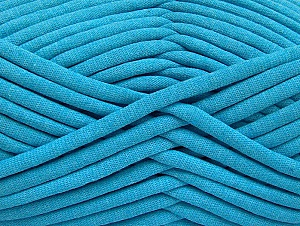 Fiber Content 60% Polyamide, 40% Cotton, Turquoise, Brand Ice Yarns, Yarn Thickness 6 SuperBulky  Bulky, Roving, fnt2-63430