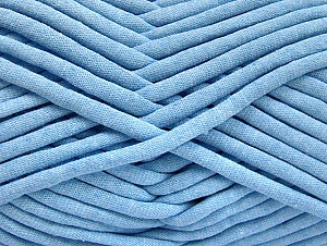 Fiber Content 60% Polyamide, 40% Cotton, Light Blue, Brand Ice Yarns, Yarn Thickness 6 SuperBulky  Bulky, Roving, fnt2-63431