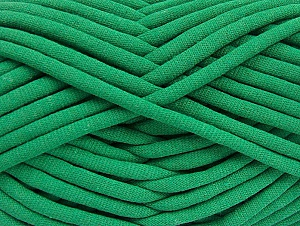 Fiber Content 60% Polyamide, 40% Cotton, Brand Ice Yarns, Green, Yarn Thickness 6 SuperBulky  Bulky, Roving, fnt2-63434