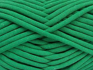 Fiber Content 60% Polyamide, 40% Cotton, Brand Ice Yarns, Green, Yarn Thickness 6 SuperBulky  Bulky, Roving, fnt2-63434