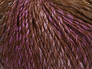 Fiber Content 70% Acrylic, 30% Wool, Lilac, Brand Ice Yarns, Brown Shades, Yarn Thickness 4 Medium  Worsted, Afghan, Aran, fnt2-63456