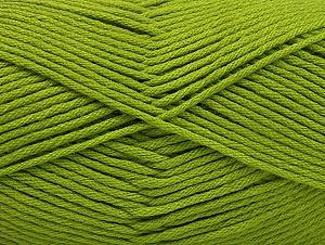 Fiber Content 52% Nylon, 48% Acrylic, Brand Ice Yarns, Green, Yarn Thickness 4 Medium Worsted, Afghan, Aran, fnt2-63465