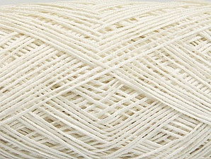 Fiber Content 60% Cotton, 28% Viscose, 10% Polyamide, White, Brand Ice Yarns, Yarn Thickness 2 Fine  Sport, Baby, fnt2-63551