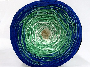 Fiber Content 50% Cotton, 50% Acrylic, Light Green, Brand Ice Yarns, Cream, Blue, Yarn Thickness 2 Fine  Sport, Baby, fnt2-63679