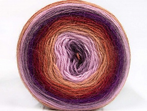 Fiber Content 60% Premium Acrylic, 20% Wool, 20% Mohair, Lilac Shades, Brand Ice Yarns, Camel, Burgundy, Yarn Thickness 2 Fine  Sport, Baby, fnt2-63715
