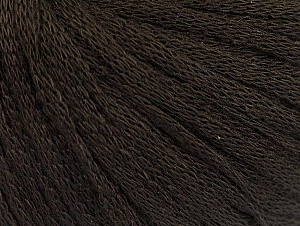 Fiber Content 50% Acrylic, 50% Wool, Brand Ice Yarns, Dark Brown, Yarn Thickness 4 Medium  Worsted, Afghan, Aran, fnt2-64001