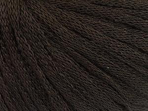 Fiber Content 50% Acrylic, 50% Wool, Brand Ice Yarns, Dark Brown, Yarn Thickness 4 Medium  Worsted, Afghan, Aran, fnt2-64001