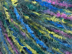 Fiber Content 100% Polyamide, Yellow, Pink, Brand Ice Yarns, Grey, Blue, Yarn Thickness 5 Bulky  Chunky, Craft, Rug, fnt2-64011