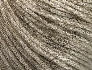 Fiber Content 85% Acrylic, 15% Bamboo, Brand Ice Yarns, Beige Melange, Yarn Thickness 4 Medium  Worsted, Afghan, Aran, fnt2-64147
