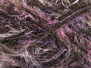 Fiber Content 40% Polyamide, 30% Wool, 30% Acrylic, Pink, Lilac, Brand Ice Yarns, Brown, Yarn Thickness 6 SuperBulky  Bulky, Roving, fnt2-64162