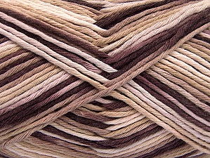 Fiber Content 100% Cotton, White, Maroon, Brand Ice Yarns, Cream, Yarn Thickness 4 Medium  Worsted, Afghan, Aran, fnt2-64189