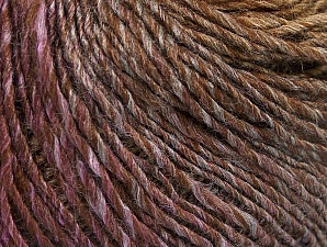 Fiber Content 70% Acrylic, 30% Wool, Purple, Brand Ice Yarns, Brown Shades, Yarn Thickness 3 Light  DK, Light, Worsted, fnt2-64216