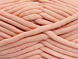 Fiber Content 60% Polyamide, 40% Cotton, Salmon, Brand Ice Yarns, Yarn Thickness 6 SuperBulky  Bulky, Roving, fnt2-64242