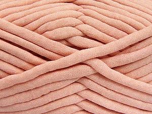 Fiber Content 60% Polyamide, 40% Cotton, Salmon, Brand Ice Yarns, Yarn Thickness 6 SuperBulky  Bulky, Roving, fnt2-64242