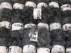This mixed lot includes a total of 2000 gr (70.5 oz.) yarn. There is no standard for ball weight. Also disregard any information on the labels. You will get what you see in the photo. In this list; you see most recent 50 mixed lots. <br> To see all <a href=&/mixed_lots/o/4#list&>CLICK HERE</a> (Old ones have much better deals)<hr> Brand Ice Yarns, fnt2-64319