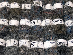 This mixed lot includes a total of 2000 gr (70.5 oz.) yarn. There is no standard for ball weight. Also disregard any information on the labels. You will get what you see in the photo. In this list; you see most recent 50 mixed lots. <br> To see all <a href=&/mixed_lots/o/4#list&>CLICK HERE</a> (Old ones have much better deals)<hr> Brand Ice Yarns, fnt2-64325