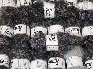 This mixed lot includes a total of 2000 gr (70.5 oz.) yarn. There is no standard for ball weight. Also disregard any information on the labels. You will get what you see in the photo. In this list; you see most recent 50 mixed lots. <br> To see all <a href=&/mixed_lots/o/4#list&>CLICK HERE</a> (Old ones have much better deals)<hr> Brand Ice Yarns, fnt2-64326
