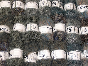 This mixed lot includes a total of 2000 gr (70.5 oz.) yarn. There is no standard for ball weight. Also disregard any information on the labels. You will get what you see in the photo. In this list; you see most recent 50 mixed lots. <br> To see all <a href=&/mixed_lots/o/4#list&>CLICK HERE</a> (Old ones have much better deals)<hr> Brand Ice Yarns, fnt2-64339
