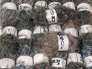 This mixed lot includes a total of 2000 gr (70.5 oz.) yarn. There is no standard for ball weight. Also disregard any information on the labels. You will get what you see in the photo. In this list; you see most recent 50 mixed lots. <br> To see all <a href=&/mixed_lots/o/4#list&>CLICK HERE</a> (Old ones have much better deals)<hr> Brand Ice Yarns, fnt2-64347