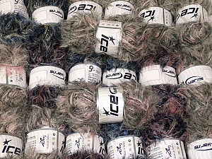 This mixed lot includes a total of 2000 gr (70.5 oz.) yarn. There is no standard for ball weight. Also disregard any information on the labels. You will get what you see in the photo. In this list; you see most recent 50 mixed lots. <br> To see all <a href=&/mixed_lots/o/4#list&>CLICK HERE</a> (Old ones have much better deals)<hr> Brand Ice Yarns, fnt2-64349