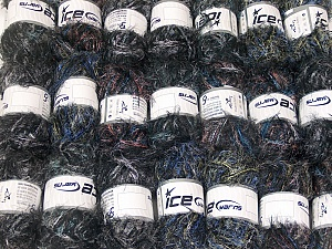 This mixed lot includes a total of 2000 gr (70.5 oz.) yarn. There is no standard for ball weight. Also disregard any information on the labels. You will get what you see in the photo. In this list; you see most recent 50 mixed lots. <br> To see all <a href=&/mixed_lots/o/4#list&>CLICK HERE</a> (Old ones have much better deals)<hr> Brand Ice Yarns, fnt2-64365
