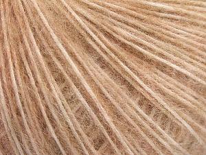 Fiber Content 30% Polyamide, 30% Acrylic, 20% Wool, 20% Alpaca, Light Salmon, Brand Ice Yarns, fnt2-64413