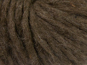 Fiber Content 88% Acrylic, 8% Polyamide, 4% Viscose, Brand Ice Yarns, Dark Brown, Yarn Thickness 5 Bulky  Chunky, Craft, Rug, fnt2-64428