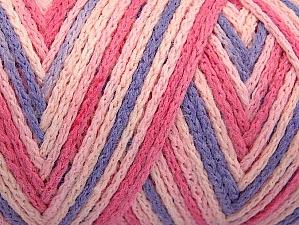 Fiber Content 50% Acrylic, 50% Polyamide, Pink Shades, Lilac, Brand Ice Yarns, Yarn Thickness 4 Medium  Worsted, Afghan, Aran, fnt2-64476