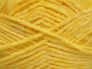 Fiber Content 100% Micro Fiber, Yellow, Brand Ice Yarns, Yarn Thickness 3 Light  DK, Light, Worsted, fnt2-64507