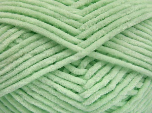 Fiber Content 100% Micro Fiber, Brand Ice Yarns, Baby Green, Yarn Thickness 3 Light  DK, Light, Worsted, fnt2-64509