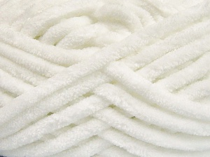 Fiber Content 100% Micro Fiber, White, Brand Ice Yarns, Yarn Thickness 6 SuperBulky  Bulky, Roving, fnt2-64514