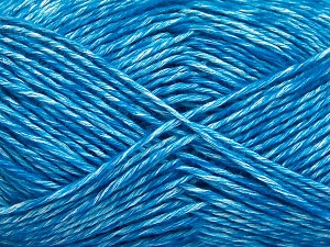 Fiber Content 80% Cotton, 20% Acrylic, Turquoise, Brand Ice Yarns, Yarn Thickness 2 Fine  Sport, Baby, fnt2-64569