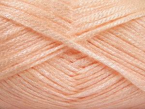 Fiber Content 70% Polyamide, 19% Wool, 11% Acrylic, Light Salmon, Brand Ice Yarns, Yarn Thickness 4 Medium  Worsted, Afghan, Aran, fnt2-64577