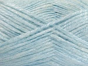 Fiber Content 70% Polyamide, 19% Wool, 11% Acrylic, Light Blue, Brand Ice Yarns, Yarn Thickness 4 Medium  Worsted, Afghan, Aran, fnt2-64579