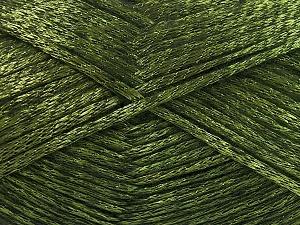 Fiber Content 70% Polyamide, 19% Wool, 11% Acrylic, Brand Ice Yarns, Green, Black, Yarn Thickness 4 Medium  Worsted, Afghan, Aran, fnt2-64586