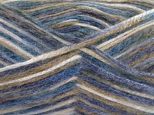 Fiber Content 70% Polyamide, 19% Wool, 11% Acrylic, Brand Ice Yarns, Camel, Blue Shades, Black, Yarn Thickness 4 Medium  Worsted, Afghan, Aran, fnt2-64592