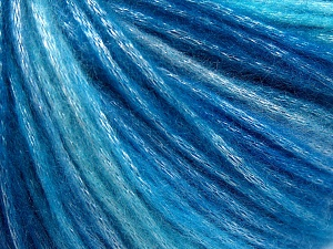 Fiber Content 56% Polyester, 44% Acrylic, Turquoise, Brand Ice Yarns, Blue Shades, Yarn Thickness 4 Medium  Worsted, Afghan, Aran, fnt2-64622