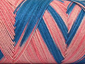 Fiber Content 100% Acrylic, Pink Shades, Brand Ice Yarns, Blue, Yarn Thickness 3 Light  DK, Light, Worsted, fnt2-64646