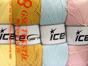Fiber Content 52% Nylon, 48% Acrylic, Mixed Lot, Brand Ice Yarns, Yarn Thickness 4 Medium  Worsted, Afghan, Aran, fnt2-64675
