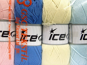 Fiber Content 52% Nylon, 48% Acrylic, Mixed Lot, Brand Ice Yarns, Yarn Thickness 4 Medium  Worsted, Afghan, Aran, fnt2-64676