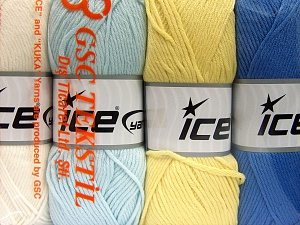 Fiber Content 52% Nylon, 48% Acrylic, Mixed Lot, Brand Ice Yarns, Yarn Thickness 4 Medium  Worsted, Afghan, Aran, fnt2-64677