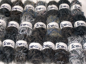 Eyelash Blends In this list; you see most recent 50 mixed lots. <br> To see all <a href=&/mixed_lots/o/4#list&>CLICK HERE</a> (Old ones have much better deals)<hr> This mixed lot includes a total of 2000 gr (70.5 oz.) unlabeled yarn. There is no standard for ball weight. You will get what you see in the photo. Brand Ice Yarns, fnt2-64738