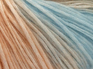 Modal is a type of yarn which is mixed with the silky type of fiber. It is derived from the beech trees. Fiber Content 74% Modal, 26% Wool, Light Salmon, Brand Ice Yarns, Baby Blue, Yarn Thickness 3 Light DK, Light, Worsted, fnt2-64809