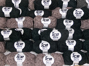 Fancy Yarns In this list; you see most recent 50 mixed lots. <br> To see all <a href=&/mixed_lots/o/4#list&>CLICK HERE</a> (Old ones have much better deals)<hr> This mixed lot includes a total of 2000 gr (70.5 oz.) yarn. There is no standard for ball weight. Also disregard any information on the labels. You will get what you see in the photo. Brand Ice Yarns, fnt2-64825