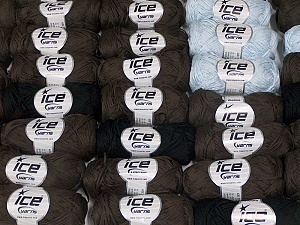 Violino In this list; you see most recent 50 mixed lots. <br> To see all <a href=&/mixed_lots/o/4#list&>CLICK HERE</a> (Old ones have much better deals)<hr> This mixed lot includes a total of 2000 gr (70.5 oz.) yarn. There is no standard for ball weight. Also disregard any information on the labels. You will get what you see in the photo. Brand Ice Yarns, fnt2-64842