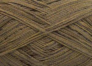 Fiber Content 74% Cotton, 26% Polyamide, Khaki Shades, Brand Ice Yarns, Yarn Thickness 3 Light  DK, Light, Worsted, fnt2-64944