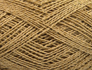 Fiber Content 76% Cotton, 24% Polyester, Brand Ice Yarns, Gold, Yarn Thickness 2 Fine  Sport, Baby, fnt2-64949