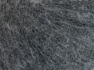 Fiber Content 50% Polyamide, 40% Baby Alpaca, 10% Merino Wool, Brand Ice Yarns, Grey, Yarn Thickness 1 SuperFine  Sock, Fingering, Baby, fnt2-64970