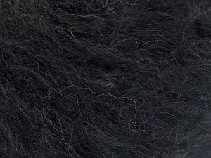 Fiber Content 40% Cotton, 20% Polyamide, 20% Acrylic, 20% Alpaca Superfine, Brand Ice Yarns, Black, Yarn Thickness 3 Light  DK, Light, Worsted, fnt2-64989